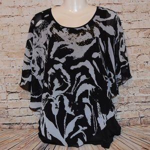 Tops - Super cute zebra blouse! 5/25
